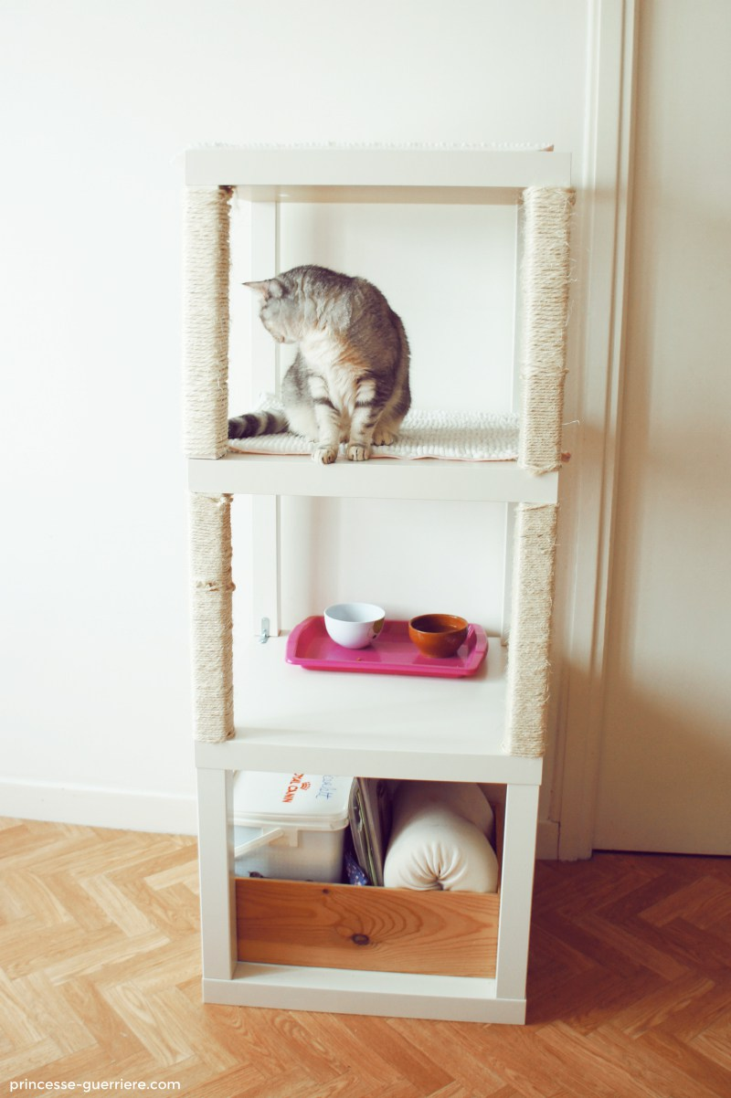 comment fabriquer un arbre chat diy ikea wanimobuzz. Black Bedroom Furniture Sets. Home Design Ideas