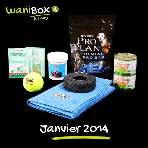 WaniBox for dog janvier 2014
